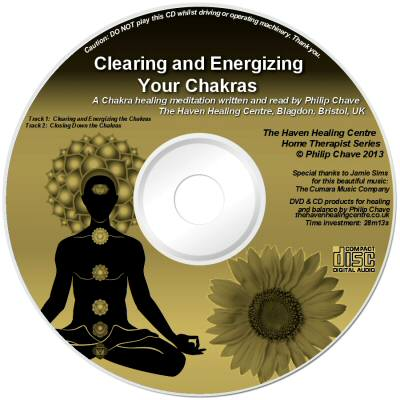 Order your Chakra Cleansing and Energizing CD today, a product by Philip Chave