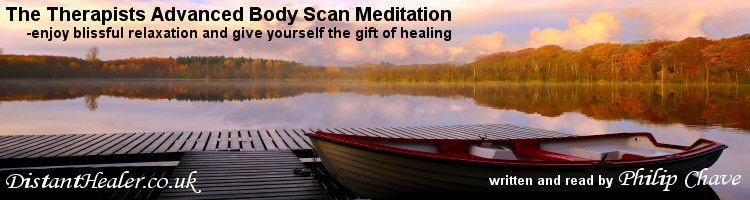 The Therapists Advanced Body Scan Meditation CD Written and read by Philip Chave