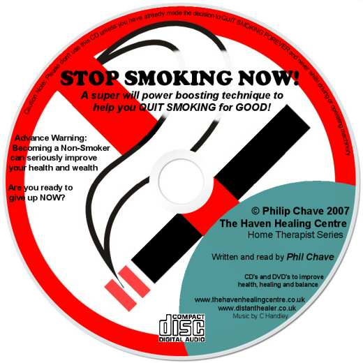 Order your Stop Smoking Now CD today