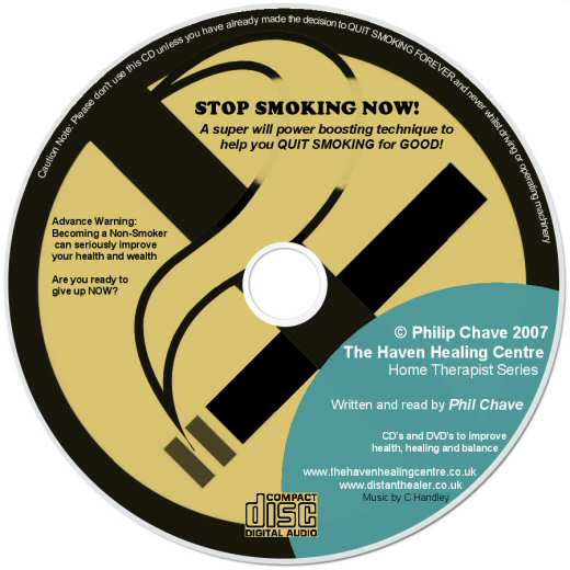 Order your Stop Smoking Now CD today, a product by Philip Chave