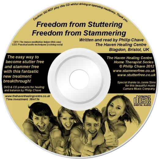 Order your Stammer Free and Stutter Free CD today, a product by Philip Chave