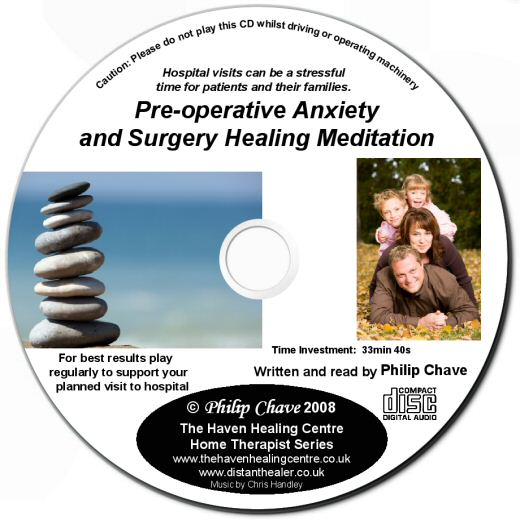 Preoperative Anxiety and Surgery Healing Meditation CD